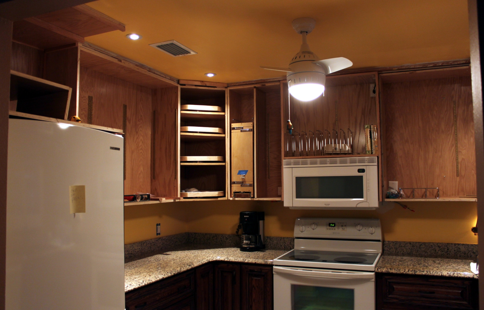Kitchen cabinets lanailens for Adding height to kitchen cabinets