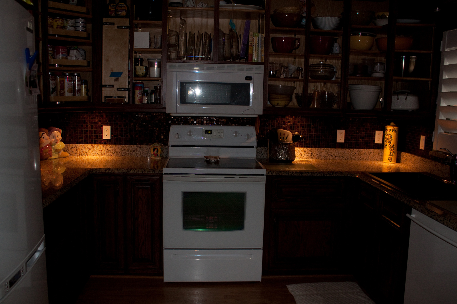 Kitchen Night Lights Kitchen Cabinets Lanailens
